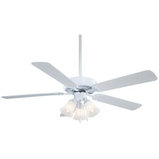 """52"""" Contractor Uni-Pack 5 Blade Ceiling Fan"""