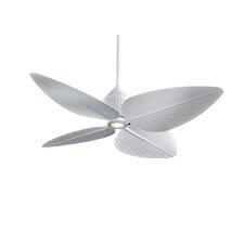 """52"""" Gauguin Tropical 4 Blade Indoor / Outdoor Ceiling Fan"""