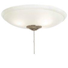 Universal 3 Light Bowl Ceiling Fan Light Kit