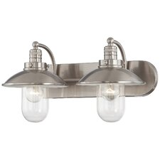 Downtown Edison 2 Light Bath Vanity Light