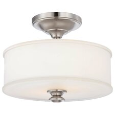 Harbour Point 2 Light Semi-Flush Mount