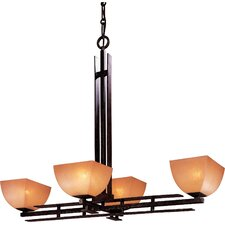 Lineage 4 Light Pool Table or Kitchen Island Pendant