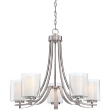 Parsons Studio 5 Light Chandelier