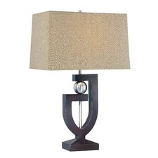 """30.5"""" H Table Lamp with Rectangular Shade"""