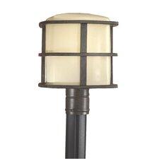 """1 Light 10"""" Outdoor Post Lantern"""