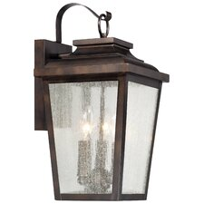 Irvington Manor 3 Light Outdoor Wall Lantern