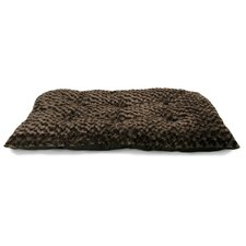 Ultra Soft Curly Fur Plush Dog Bed