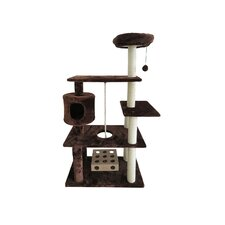 """55"""" Tiger Tough Deluxe Cat Tree"""