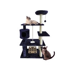 "55"" Tiger Tough Deluxe Cat Tree"