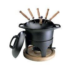 Le Gourmet Cast Iron Fondue Set