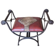 Colonial Single Vanity Iron Bench