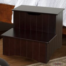 2-Step Manufactured Wood Storage Step Stool