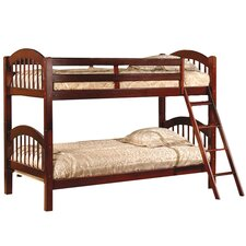 Arched Twin Bunk Bed