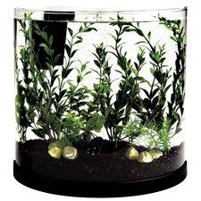 3 Gallon Bubbling Half Moon Aquarium Kit