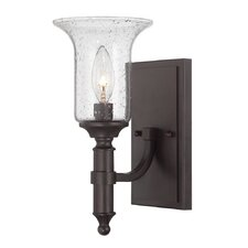 Trudy 1 Light Semi-Flush Wall Light