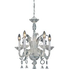 Boutique 5 Light Crystal Chandelier
