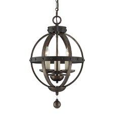Alsace 3 Light Globe Pendant