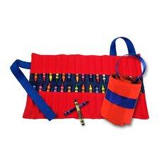 Doodlebugz Crayola Crayon Keeper in Red / Blue