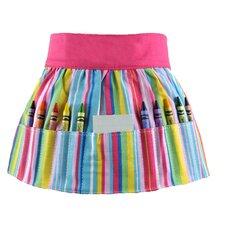 Doodlebugz Crayola Crayon Apron in Pink Stripe