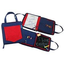 Doodlebugz Crayola Doodlebag in Red / Blue