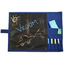 Doodlebugz Crayola Chalkboard Placemat in Blue