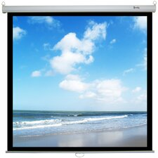 Retract Plus Premium Matte White Manual Projection Screen