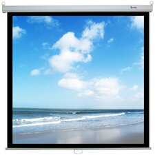 Retract RSR Deluxe Matte White Manual Projection Screen