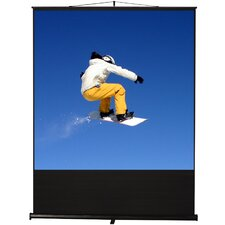 "Clarity Matte White 100"" diagonal Portable Projection Screen"