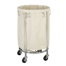 Commercial Round Laundry Hamper