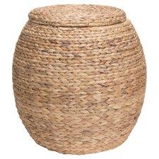 Hookton Wicker Storage Basket with Lid