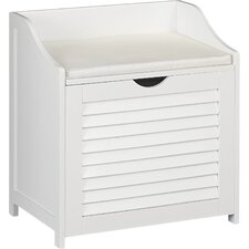 Single Load Hamper Cabinet Seat