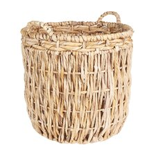 Tall Round Floor Basket