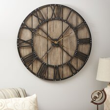 "Oversized 36"" Roman Numerals Wall Clock"