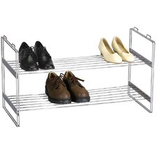 2-Tier Shoe Rack