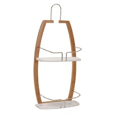Elements Plastic Hanging Shower Caddy
