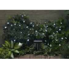 Solar 30-Light 8 ft. Fairy String Lights