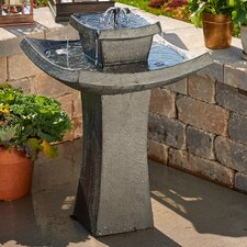 Mahayana Two-Tier Solar-on-Demand Fountain
