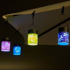 Fiesta Outdoor Hanging Lantern (Set of 4)