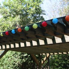 Solar 20-Light Lantern String Lights