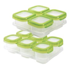 22-Piece Baby Blocks Container Set