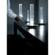 """Cand-Led 11"""" H Table Lamp with Rectangular Shade"""