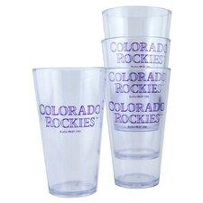 Colorado Rockies 16 oz Drinkware Set