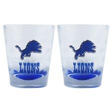 NFL Shot Glass Cup (Set of 2)