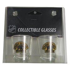 NHL Shot Glass Cup (Set of 2)