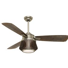 "56"" Glen Arbor 3 Blade Ceiling Fan with Remote"
