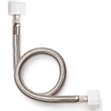 No Burst Braided Straight Thread Faucet Connector