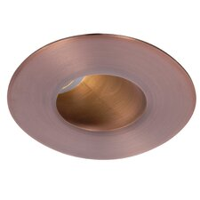"""LED Downlight Adjustable Round 2"""" Recessed Trim with 45 Degree Beam Angle"""