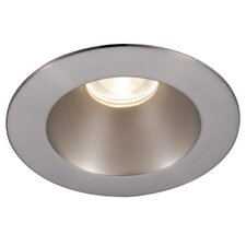 """LED Downlight Shower Round 3"""" Recessed Trim with 28 Degree Beam Angle"""