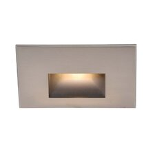LED Step Light With Rectangular Scoop