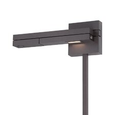 Flip Left LED Swing Arm Light